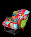 Patchwork chairs - Blush