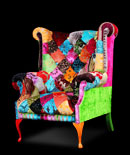 Patchwork chairs - Bravado