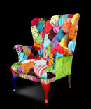 Patchwork chairs - Gorgeous